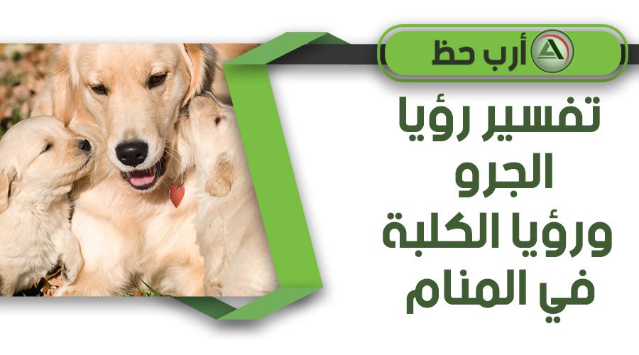 تفسير حلم جرو الكلب